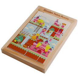 $enCountryForm.capitalKeyWord Australia - 2019 wooden changeable Tetris block jigsaw puzzle early education educational children's toys wholesale