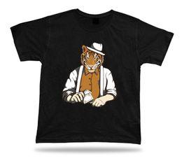 Women tiger design shirt online shopping - Magician Tiger Head Man awesome vector unique special t shirt tee design idea Men Women Unisex Fashion tshirt black