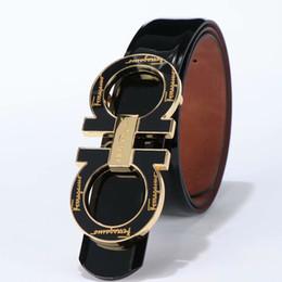 $enCountryForm.capitalKeyWord UK - 2019Hot selling new Mens womens black belt Genuine leather Business belts Pure color belt snake pattern buckle belt for gift
