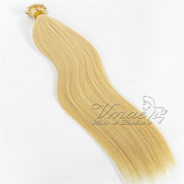nano ring hair tips UK - European Russian Straight 100g Black Blonde Double Drawn One Donor Raw Tip Keratin Pre Bonded Nano Ring Human Hair Virgin Extensions