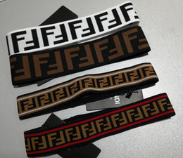 Marca ENVIAR Mulheres meninas Cachecol Echarpes Lenços Cabeça Cachecol Melhor Qualidade Designer Elastic Headband Faixas de Cabelo para Homens e Mulheres em Promoção