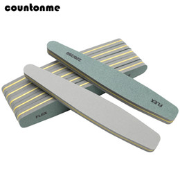 f906dcb5fbf 5Pcs Nail Files 220 280 Nail Buffer Sponge Diamond Manicure Tools Set  Artificial Nails Art Tips Gel Polish Buffing Sanding Files