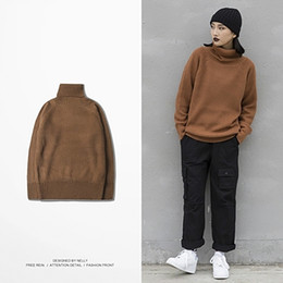 dd037a11456 8 Фотографии Купить Онлайн Платье для корейского стиля-Шерстяной Водолазка  Свитер Зимний Мужской Теплый Slim Fit Пуловер