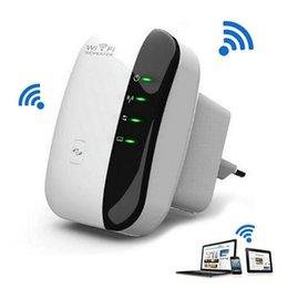 Répéteur WiFi sans fil N 802.11n / b / g Routeurs réseau Wi Fi Extension de gamme 300Mbps Extender WIFI Ap Encryptage Wps