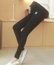 Leggings Pregnant Australia - Maternity wear spring autumn maternity pants pregnant Supplies nine points support abdominal leggings 200 jins increase pregnant women