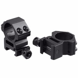 Wholesale 2pcs mm Scope Ring High Profile Fit for mm Picatinny Weaver Rail Mount Flashlight Mounts Hunting Accessories New