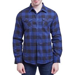 53485daa4b0 feitong men soft winter casual shirt man long sleeve christmas single  breasted palid shirts turn-down collar double pocket y30