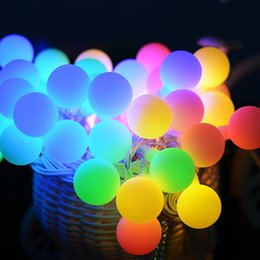 usb string holiday lights NZ - Usb 5v Powered Portable Globe Ball Led String Light Holiday Light 2m 20led Waterproof In outdoor Christmas Fairy Lamp Decoration