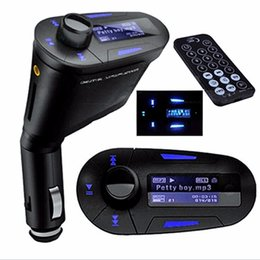 Car Mp3 Mp4 Player Bluetooth Australia - 3 in 1 Wireless Bluetooth FM Transmitter MP3 MP4 Player Car Kit car Charger for iphone + Remote Controller audio player
