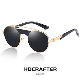 ac5316bbb7 Double Flip Sunglasses Australia - Hot Round Steampunk Sunglasses Men Retro  Small Flip Up Glasses for