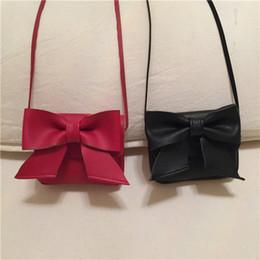 099250fc1b00 Baby Girls Big Bow Messenger Bag Cartoon Cute Kids Mini PU Leather Shoulder  bag Boutique Coin Purse Handbag C5927