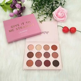 best eyeshadow UK - Beauty New To Me Makeup Palette Give It Colourpop Palettes Straight Best Waterproof Matte Eye Shadow Pigment Powder Eyeshadow Free Ship Sfva