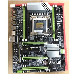 Motherboard B75 Australia - X79T motherboard DDR3 LGA 2011 Processor computer channels gaming Support M.2 E5-2680V2 i7 SATA 3.0 USB 3.0 for Intel B75