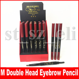$enCountryForm.capitalKeyWord NZ - M Eye Makeup Art Cosmetics Eyebrow Pen Eye brow Enhancers Double-Head eyebrow Pencil 3 Colors