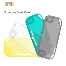 Cover for nintendo online shopping - clear TPU Soft Case cover for Nintendo Switch Lite color simple opp