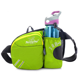 Fanny pack water bottle online shopping - Men Women Marathon Jogging Cycling Running Hydration Belt Waist Bag Pouch Fanny Pack Phone Holder For Water Bottles