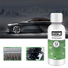 Discount car wax wholesale - Do Promotion! 20 50ml 9H Car Coating Paint Sealant Anti Scratch Auto Exterior Care Hydrophobic Coating Car Wax Wax Polis