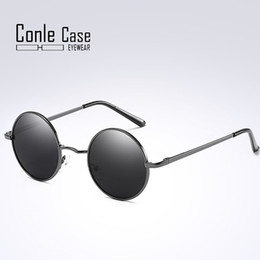 86decdb57 Prince round mirrored sunglasses online shopping - Conle Case women s New  polarized sunglasses fashion prince
