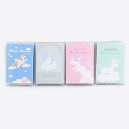 $enCountryForm.capitalKeyWord UK - 2019 New Novelty Paper Unicorn Design Note Book  Sticky Note Easy To Tear Book For School Office Stationery
