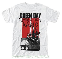 $enCountryForm.capitalKeyWord Australia - Green Day 'radio Combustion' T-shirt - Neu Und Offiziell Top Quality T Shirts Men O Neck