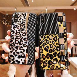$enCountryForm.capitalKeyWord Australia - Leopard pattern call phone case cover for iphone 7 7plus 8 8plus 6 6plus Xs max XR