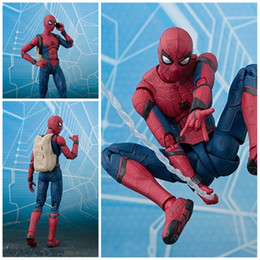Female toy dolls online shopping - Spider Man Homecoming Movable Model Toy Exquisite PVC Anti Wear Eco Friendly Male And Female Popular Doll Factory Direct mf I1