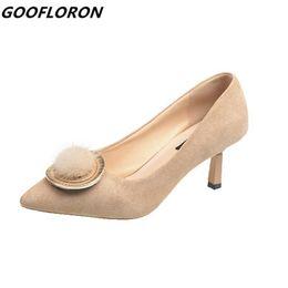 $enCountryForm.capitalKeyWord Australia - Designer Dress Shoes Women Low Heel New Pu Shallow Mouth Metal Mouth Decoration Women's Bow Lattice Fur Slides Wild Home Shoe Women