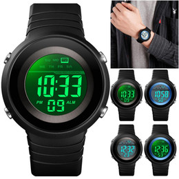 $enCountryForm.capitalKeyWord Australia - 2019 Children's 50M Waterproof Watches Kids EL backlight Sport Alarm Watch for Boys Girls Men Women Electronic Wrist Watch