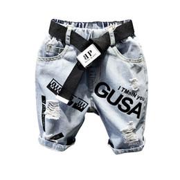 $enCountryForm.capitalKeyWord Australia - boys shorts kids shorts kids designer clothes boys jeans Summer hole loose boys Harem Pants Cross-pants Boy Clothing boy clothes A5901
