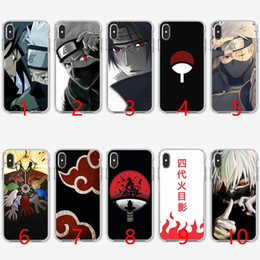 f284aa78664 Naruto Kakashi Japanese anime Soft Silicone TPU Phone Case for iPhone 5 5S  SE 6 6S 7 8 Plus X XR XS Max Cover
