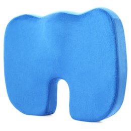 China Coccyx Orthopedic Memory Foam U-Shaped Seat Cushion For Office Chairs, Cars, Airplanes cheap airplane seat cushion suppliers