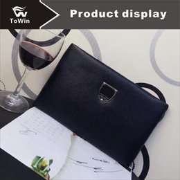 $enCountryForm.capitalKeyWord Australia - Luxury Man Wallet Excellent Cowhide Men Purses Quality Genuine Leather Handbag Design European American Style Clutch Bags Cost Prices Sale