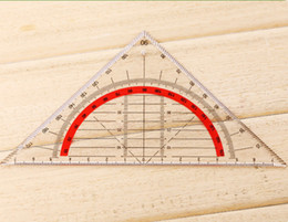 $enCountryForm.capitalKeyWord Australia - 5pcs Students Stationery Office Multi-function Set Square Triangle Multifunctional Ruler Protractor Triangle Coordinate Rulers