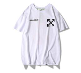 09540a7c 2019 HOT Fashion mens Hip Hop Tee Skateboard off new white Cool T-shirt Men  Women Cotton Casual Cartoon T-Shirt high quality tshirts S--XXL