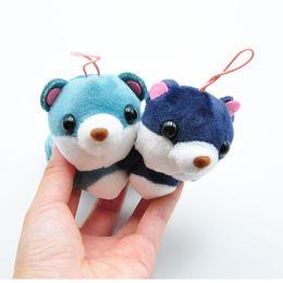 $enCountryForm.capitalKeyWord Australia - 13cm Super Cute Squirrel Plush Doll Toys 4 Colors Stuffed Squirrel Plush Pendant Woman Bag Decoration Pendant L230
