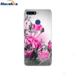 Wholesale huawei honor bumper resale online - For Huawei Honor C Inch AUM L41 Case on Honor C Cover Cute Silicone Case Soft TPU Bumper for Huawei Honor C Case Honor7C
