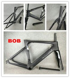 Black Orange Road Bicycle NZ - Black Colnago Carbon BOB Road bike Frame full carbon fiber bicycle frame with BB386 Frame GLOSSY LOGO