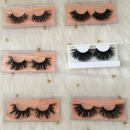 $enCountryForm.capitalKeyWord Australia - Super Long 3D Mink Lashes with Free Packaging 25mm Eyelashes 100% Real Mink Fur Eyelash Hot Selling G-EASY