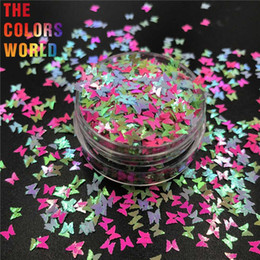 painting faces UK - TCT-303 Butterfly Shape Nail Glitter Nail Art Decoration Makeup Face Paint Festival Home DIY Decoration Accessory Party Supplies
