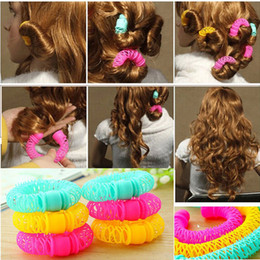 RolleR tool foR haiR online shopping - 8Pcs New Magic Hair Donuts Hair Styling Roller Hairdress Magic Bendy Curler Spiral Curls DIY Tool for Woman Hair Accessories