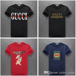 65979a074 4 Fotos Camisas de marca online   venda-Novo 2019 Abelha Serpente Clássico  Tigre Moda T-