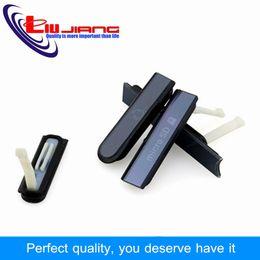 L36h Housing Australia - wholesale Housing for Sony Z L36h L36 C6602 C6603 Micro SD Earpone Jack SIM Card Port Slot USB Charging Port Dust Plug