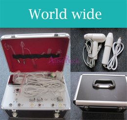 Portable diamond dermabrasion beauty machine online shopping - EU tax free Home use PORTABLE Diamond Dermabrasion Peeling Facial skin Care Beauty Machine Galvanic High Frequency Face Massage Cleaner