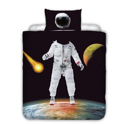 China Wandering Earth Astronaut 3D Comforter Bedding Sets Fortnite Duvet Covers Home Textile Printed Cartoon Fortnite Pattern Queen King Size 3PCS suppliers