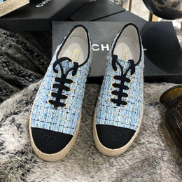 $enCountryForm.capitalKeyWord Australia - Summer new high quality ladies shoes retro ethnic style new straw rope lace embroidery fisherman shoes casual fashion canvas linen ladies qs
