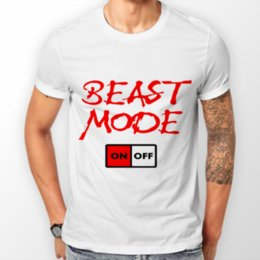 838ed0e3fa Funny Mens T-Shirts novelty joke t-shirt clothing birthday gaming beast  mode Hipster Tees Casual O-Neck 100% Cotton Short Sleeve