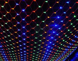 $enCountryForm.capitalKeyWord UK - 220V LED Net Mesh String Light christmas Outdoor Garden Wedding Window Curtain Net Fairy String Light 1.5*1.5M 2*2M 3*2M 6*4M