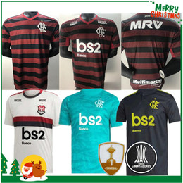 Vente en gros 19 20 maillot de flamengo 2019 2020 flamand GUERRERO DIEGO VINICIUS JR maillots de football Flamengo GABRIEL B maillots de football pour homme