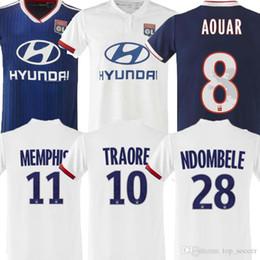 Thailand Shirts Australia - TOP Thailand Maillot de foot Olympique Lyonnais soccer jersey 2019 2020 Lyon football shirt TRAORE MEMPHIS FEKIR 19 20 kit uniforms