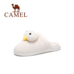 $enCountryForm.capitalKeyWord Australia - CAMEL New Winter Fashion Casual Home Cartoon Slippers Women Warm Sliders Ladies Flip Flop Fluffy Faux Fur Flat PVC